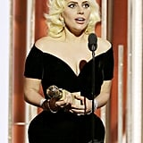 At the 2016 show, Lady Gaga snagged a surprise best actress win for her performance in American Horror Story: Hotel!