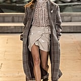 Isabel Marant Coats the Cool Girl in Patent Leather For Fall '16
