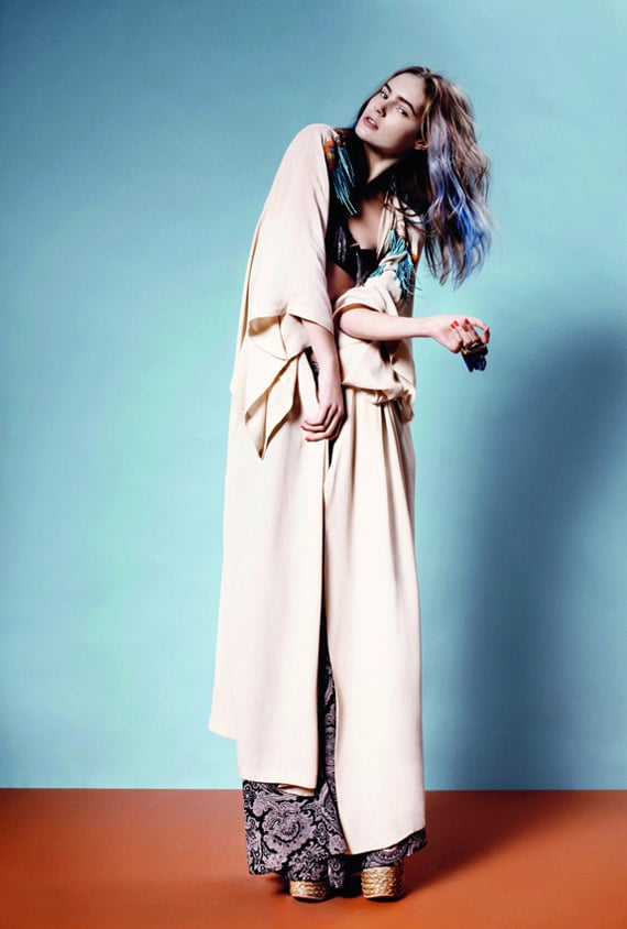Topshop Brings on the Modern Cuts and Bohemian Vibes For Spring 2011