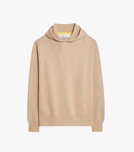 French Terry Melange Hoodie