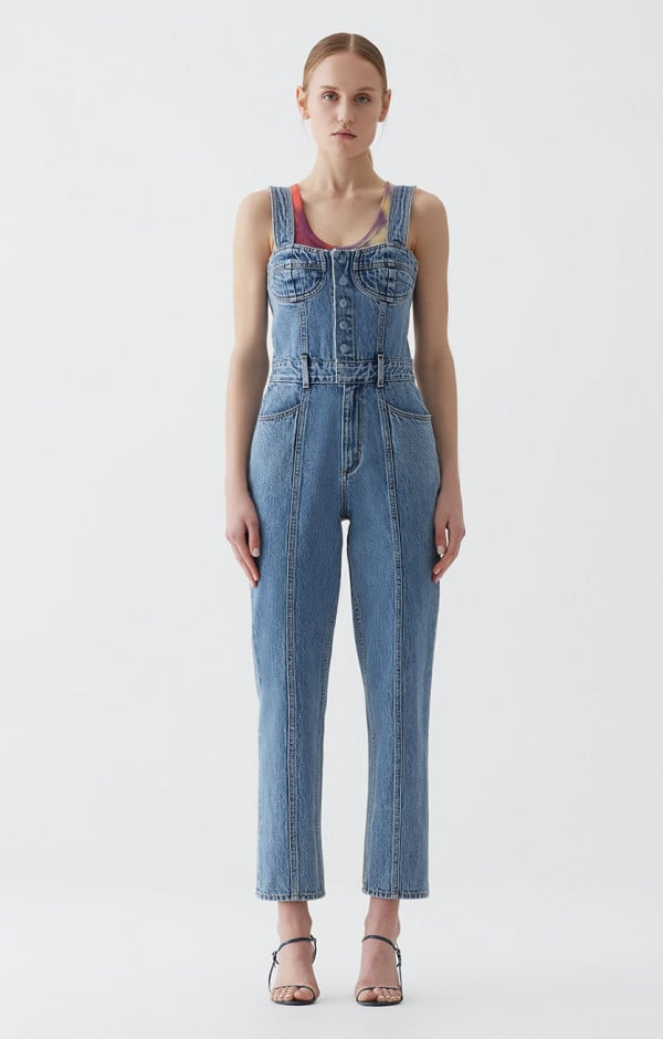 best deals on discount coupon meticulous dyeing processes Agolde Ingrid All In One Bralette Jumpsuit | Tired of All ...