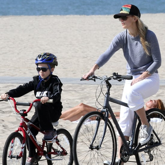Kate Hudson Riding a Bike With Ryder Pictures