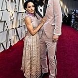 Lisa Bonet and Jason Momoa at the Oscars