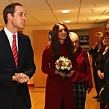 Prince William and Kate Have a Date Night at a Welsh Rugby Game