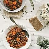 Thyme Chard Lentil Quinoa Stew
