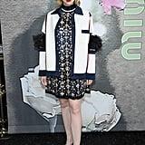 Gwendoline Christie at Miu Miu Fall 2019