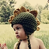 Hat and Cold Crochet Baby Dinosaur Hat