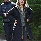 Keri Russell filmed for Dawn of the Planet of the Apes in Vancouver.