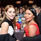 Pictured: Marina de Tavira and Yalitza Aparicio