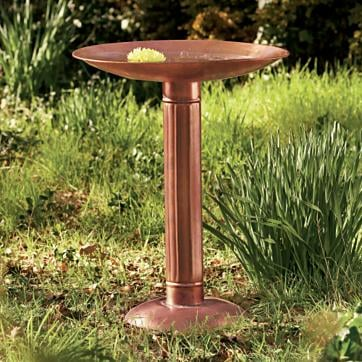 Casa Quickie: Ice Your Birdbath