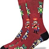 Good Luck Sock Men's Nutcracker Crew Socks