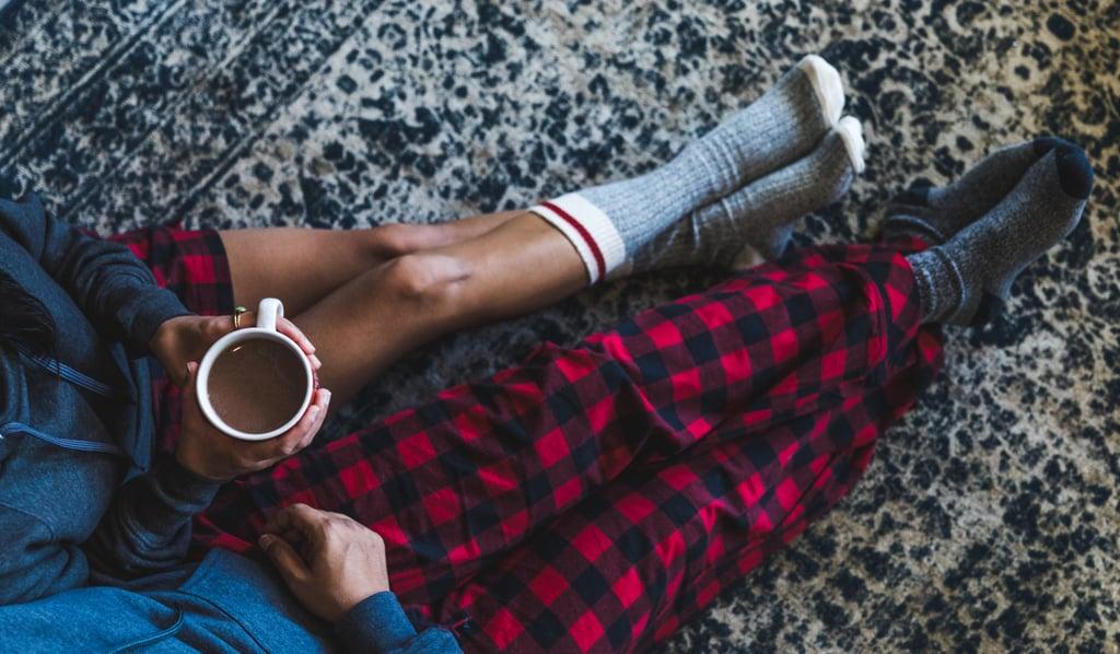 Make Hot Chocolate in Matching Pajamas