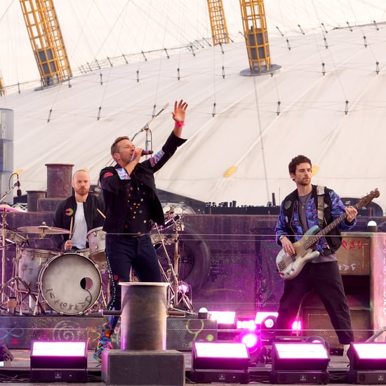 "Coldplay Performs ""Higher Power"" at the BRIT Awards 2021"