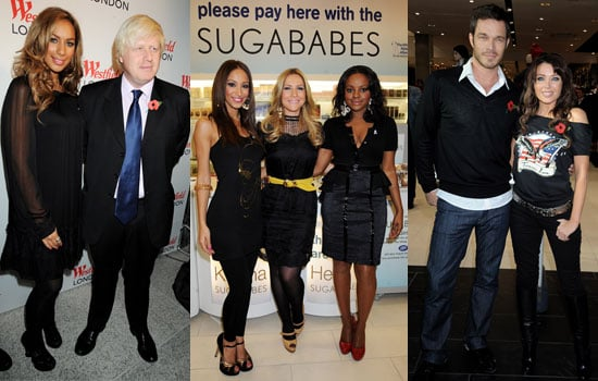 Photos of Dannii Minogue, Paul Sculfor, Sugababes, Leona Lewis and Boris Johnson at Westfield Launch