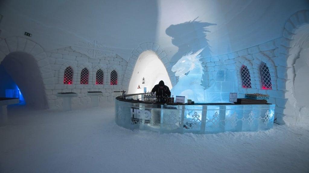 Risultati immagini per game of thrones hotel ice