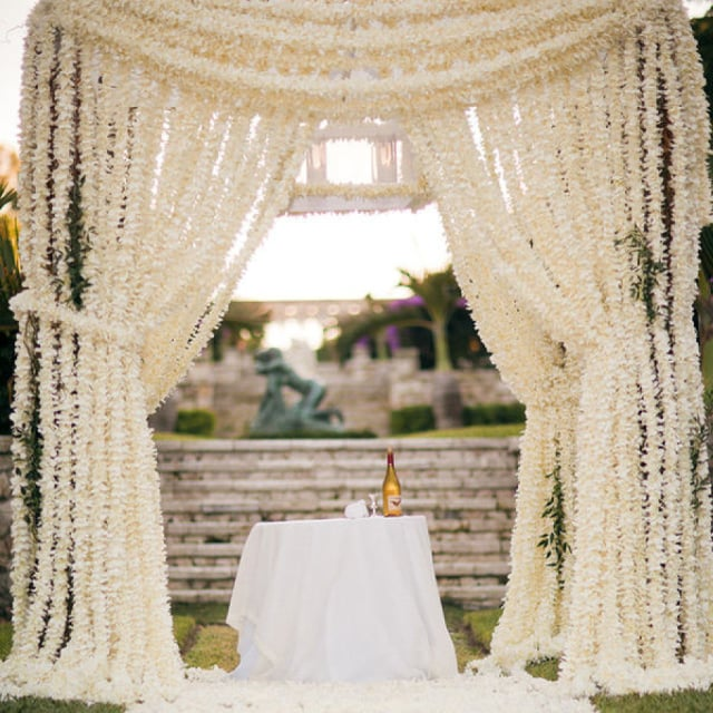 Unique wedding altar ideas and pictures popsugar home junglespirit Choice Image