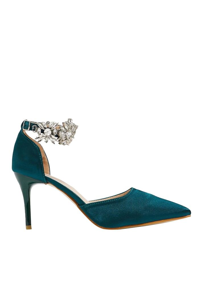حذاء ايلا بحزام كاحل أنيق