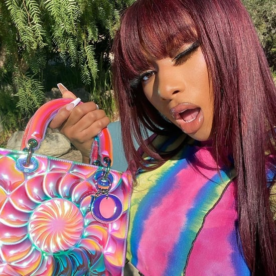 See Megan Thee Stallion's Iridescent Dior Bag on Instagram