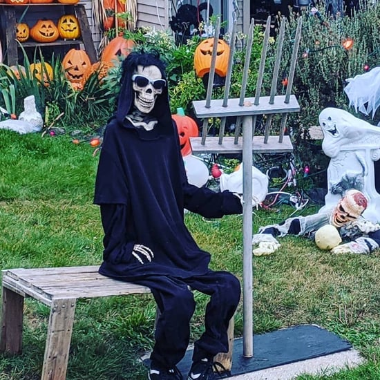 This Guy's Schitt's Creek Halloween Decorations Are Amazing