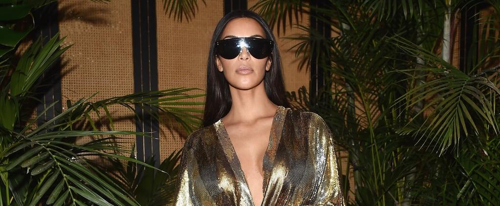 Kim Kardashian Balmain Looks