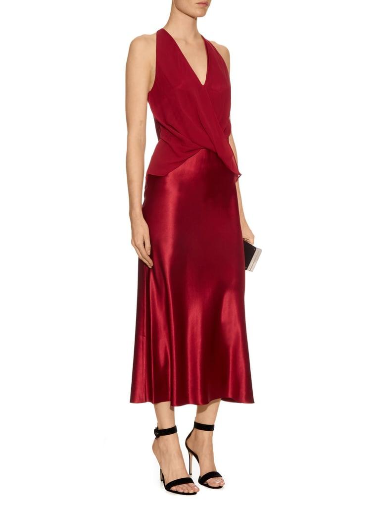 Dion Lee Silk Midi Dress
