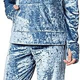 PajamaGram Plush Velvet Set