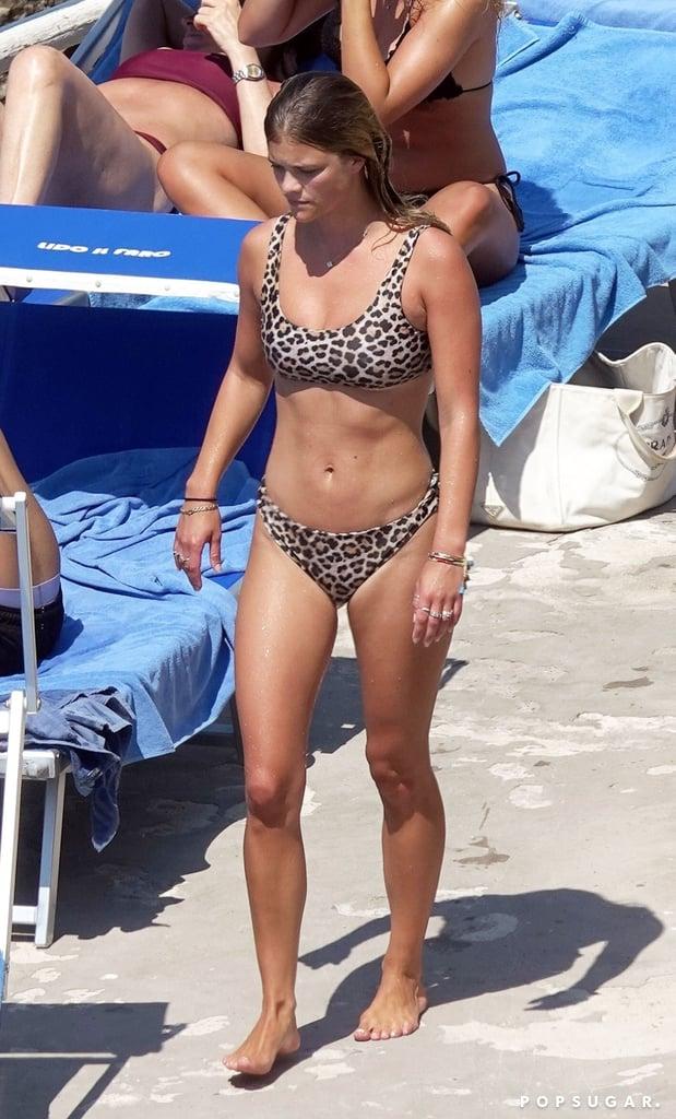 Nina Agdal's Leopard-Print Bikini