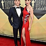 Dave Franco and Alison Brie at the 2018 SAG Awards