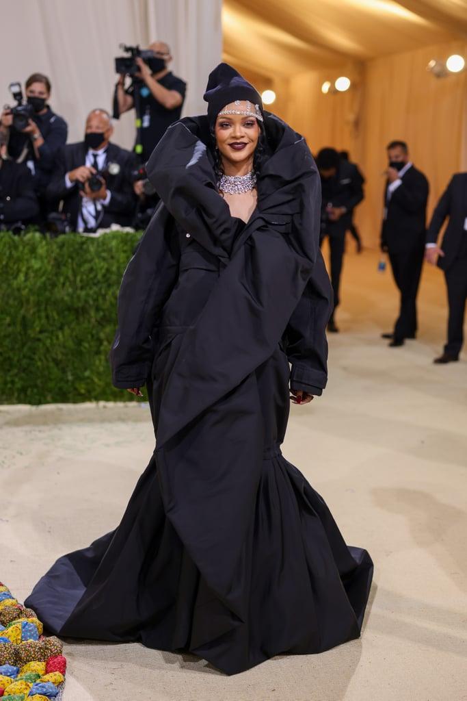 Rihanna at the 2021 Met Gala