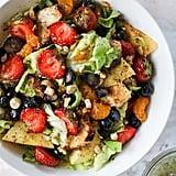 Grilled Chicken Strawberry Poppy Seed Breakfast Salad