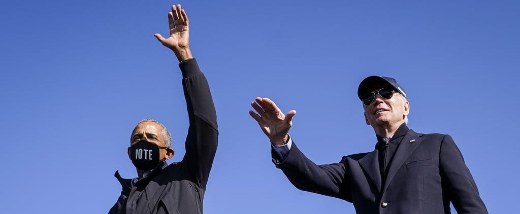 Read Barack Obama's Message to Joe Biden After Election Win