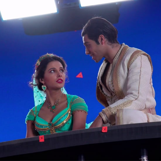 "Behind-the-Scenes Filming Aladdin ""A Whole New World"" Video"