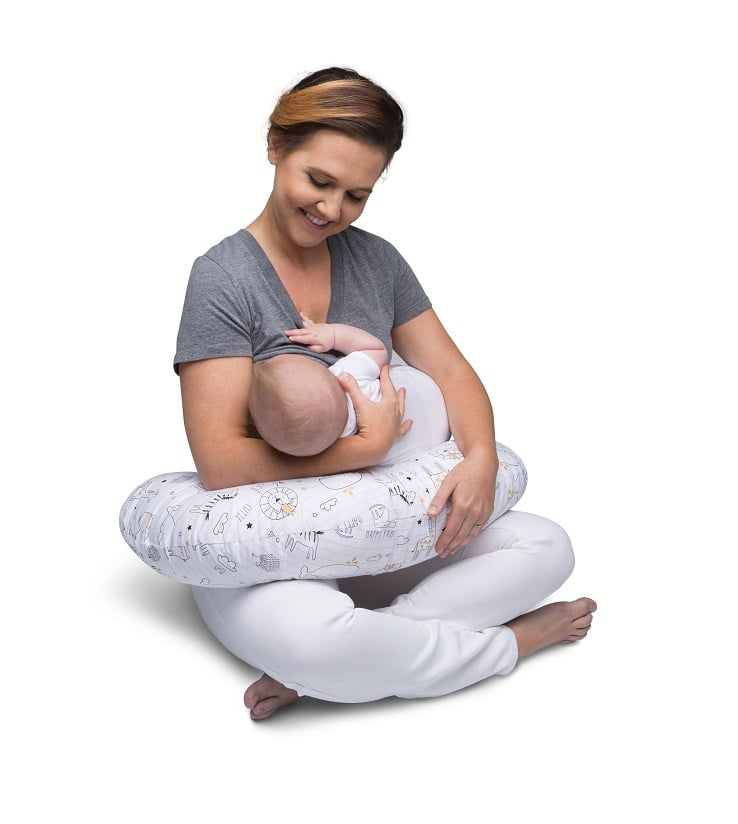 Boppy Classic Feeding & Infant Support Pillow ($40)
