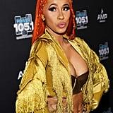 Cardi B's Orange Wig