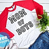 Mom of Boys Raglan