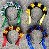Slytherin House Flower Crown ($15)