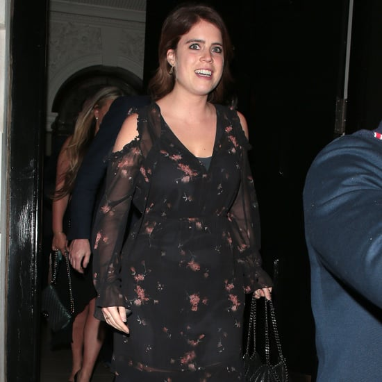 Princess Eugenie Wearing Black Pumps