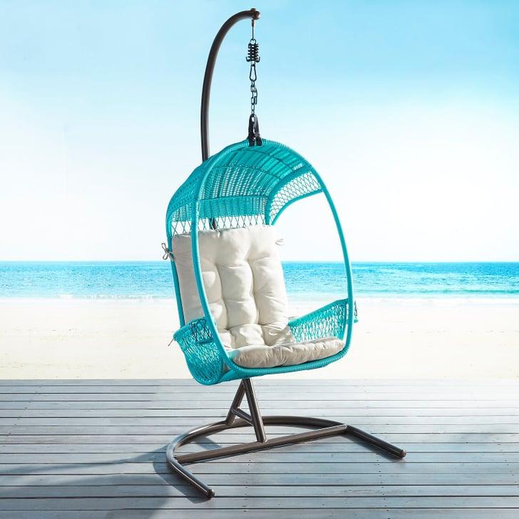 Swingasan Luna Star Parchment Hanging Chair | Pier 1 ...