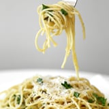 5-Ingredient Parmesan Garlic Spaghetti Is What Solo Dinner Dreams Are Made Of