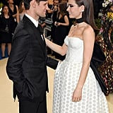 Matt Smith and Lily James at the Met Gala