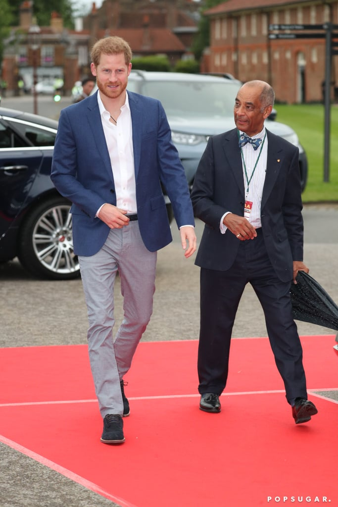 Prince Harry at Sentebale Audi Charity Concert June 2019