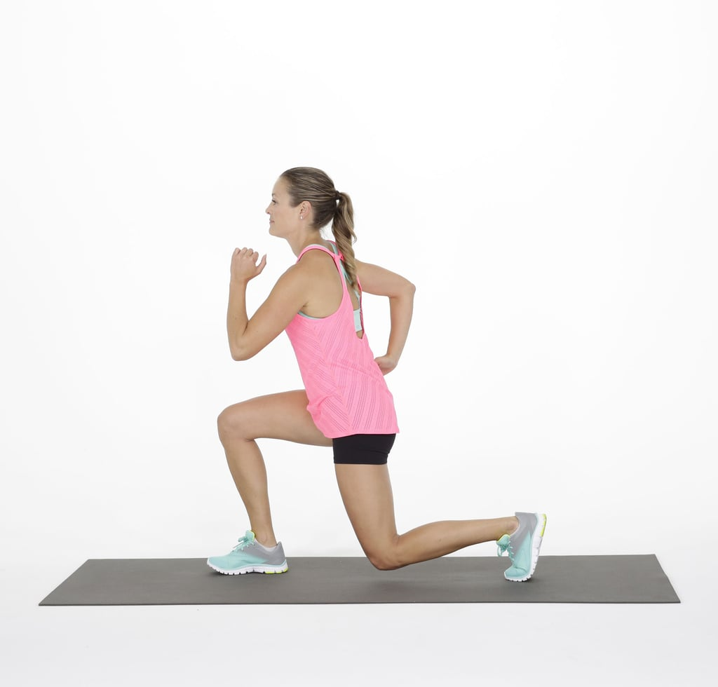 Circuit 3: Alternating Back Lunge — 20 Reps