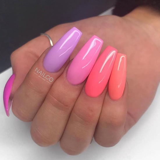 Paint Chip Nail Art Trend