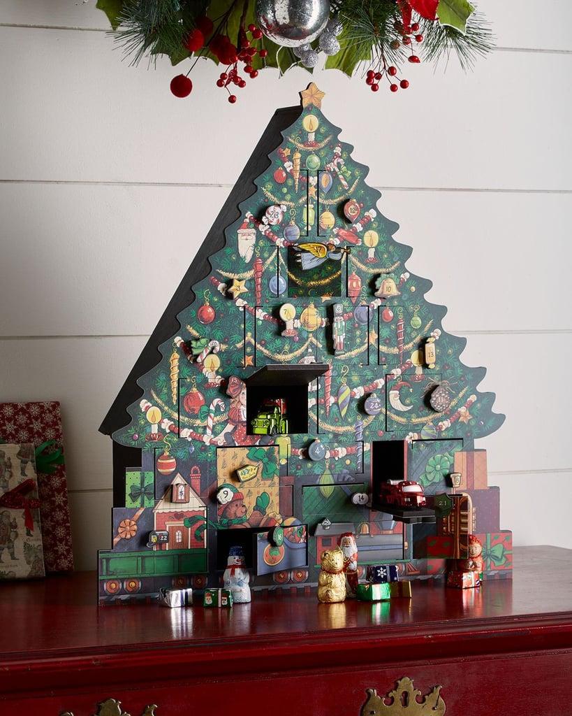 Byers' Choice Christmas Tree Advent Calendar | Best Christmas Advent Calendars 2018 | POPSUGAR ...