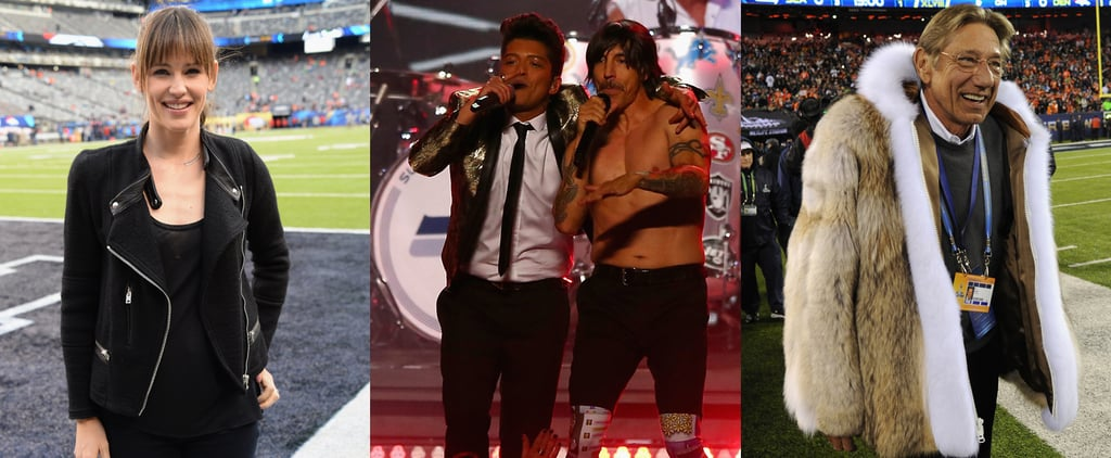 Celebrities at the 2014 Super Bowl