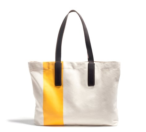 For that quintessential hold-everything-on-the-go Summer tote, try this Everlane carryall ($35).