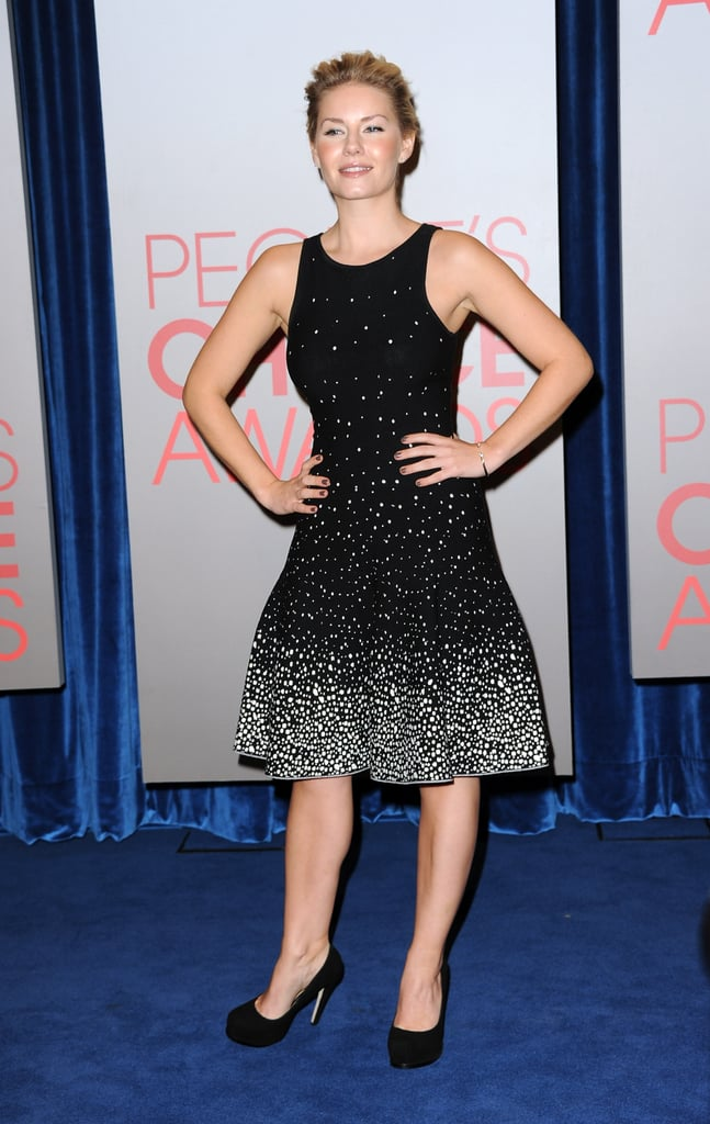 Elisha Cuthbert at the People's Choice Awards nominations.