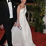Kate Middleton's White Dress at the BAFTA Awards 2019