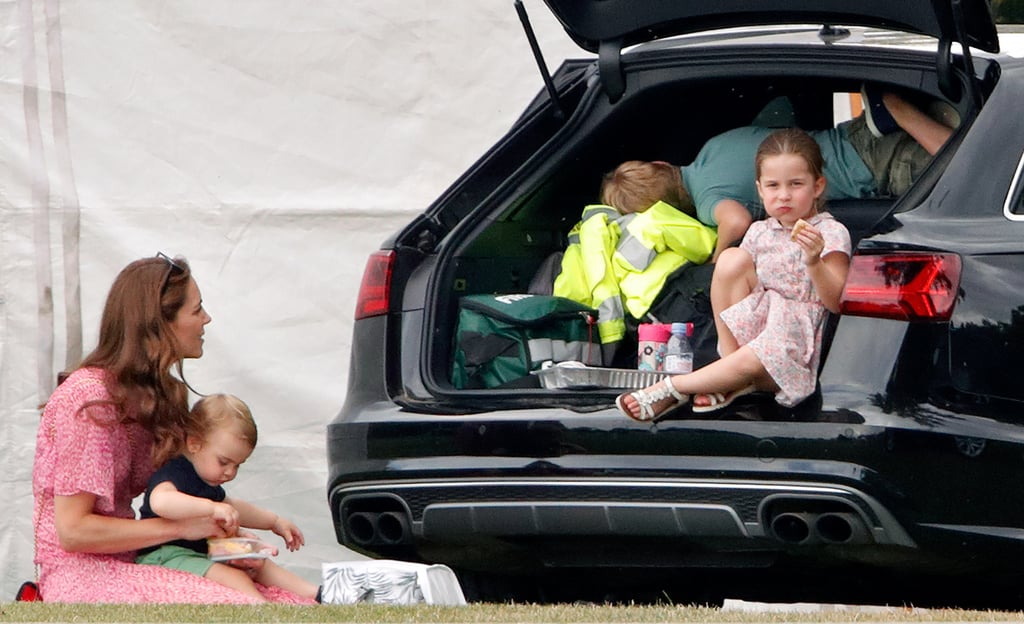 Kate Middleton and Her Kids at Polo Match July 2019