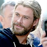 How Chris's Grooming Routine Changes When He Is Thor